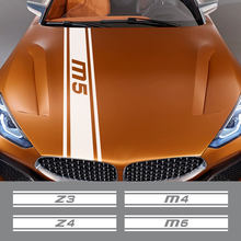 Dla BMW M1 hołd 40i M2 CS M3 E92 M4 M5 M6 Z1 Z3 Z4 E89 E85 Z8 akcesoria samochodowe maska samochodu naklejki maski Vinyl Film naklejka