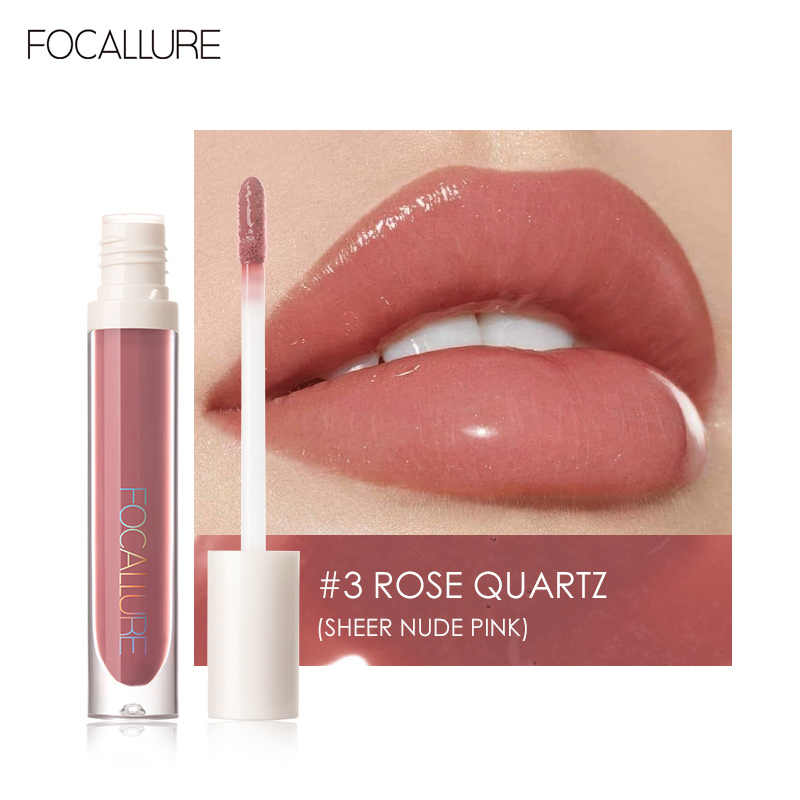 Focallure Hoge Shine Lipgloss Plumpmax Voeden Soft & Smooth Lip Make-Up Non-Sticky Formule Lipgloss