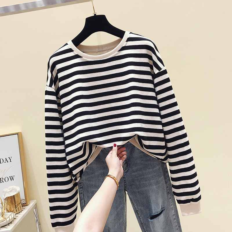 Fp8115 2019 New Autumn Winter Women Fashion Casual T-shirt Lady Beautiful Nice Tops Female Korean  Woman Clothes  Japanese
