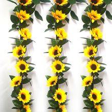 Flores artificiais, enroladores de flores artificiais, coluna, flores para pendurar, flores em rattan, decoração da parede de jardim, para casa, imperdível