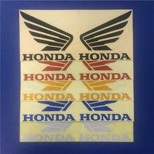Universal marke logo teil auto stil moto kreuz kraftstoff tank aufkleber moto rbike aufkleber moto rcycle zubehör für honda moto aufkleber