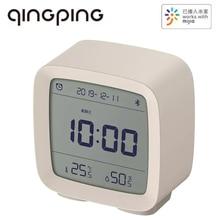 Qingping Bluetooth Temperature Humidity Sensor Night Light LCD Screen Brightness Adjustable Alarm Clock Work with Mi Home APP