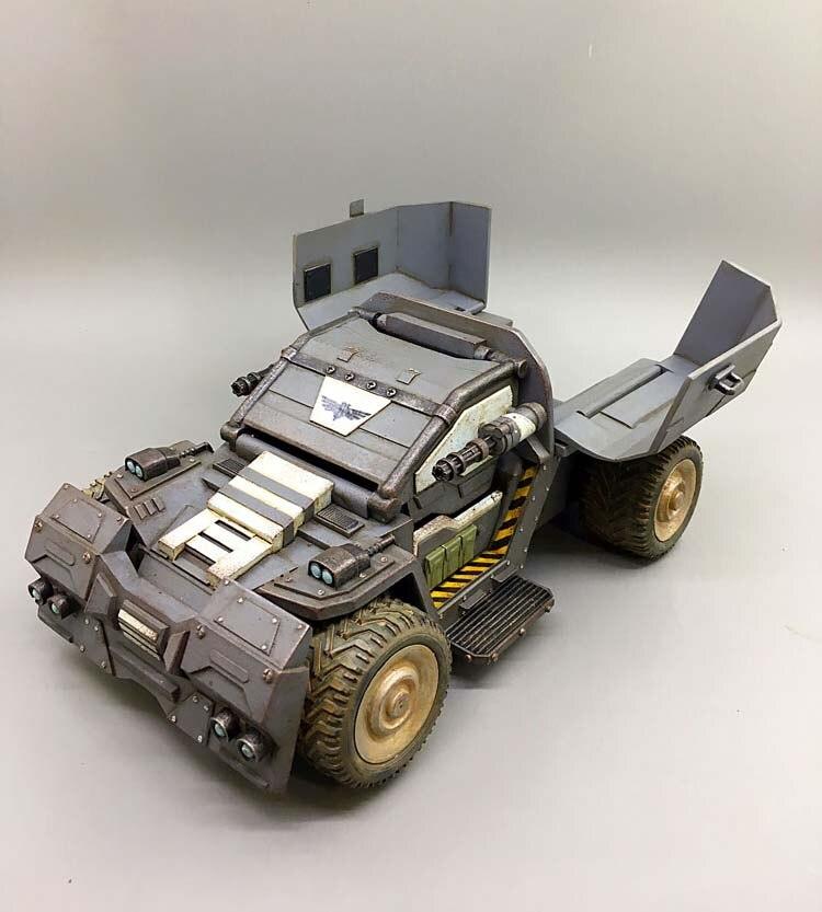 В наличии детские подарки 1/27 весы 21 см диких носорогов Скаут штурмовая машина модель грузового автомобиля для фанатов детские подарки - 4