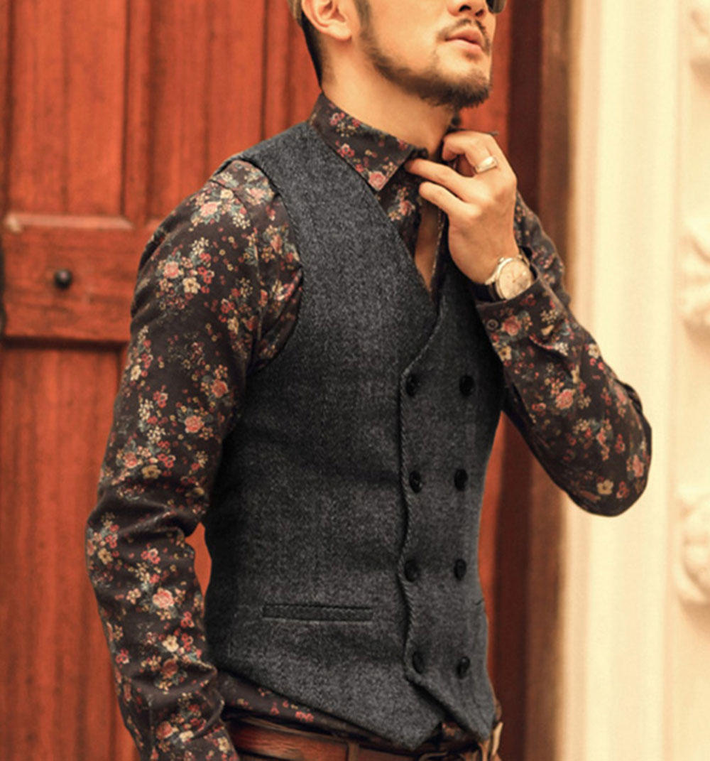 Men-new-arrival-Autumn-British-slim-woolen-vest-men-casual-top-quality-brand-design-suit-vest (1) 副本