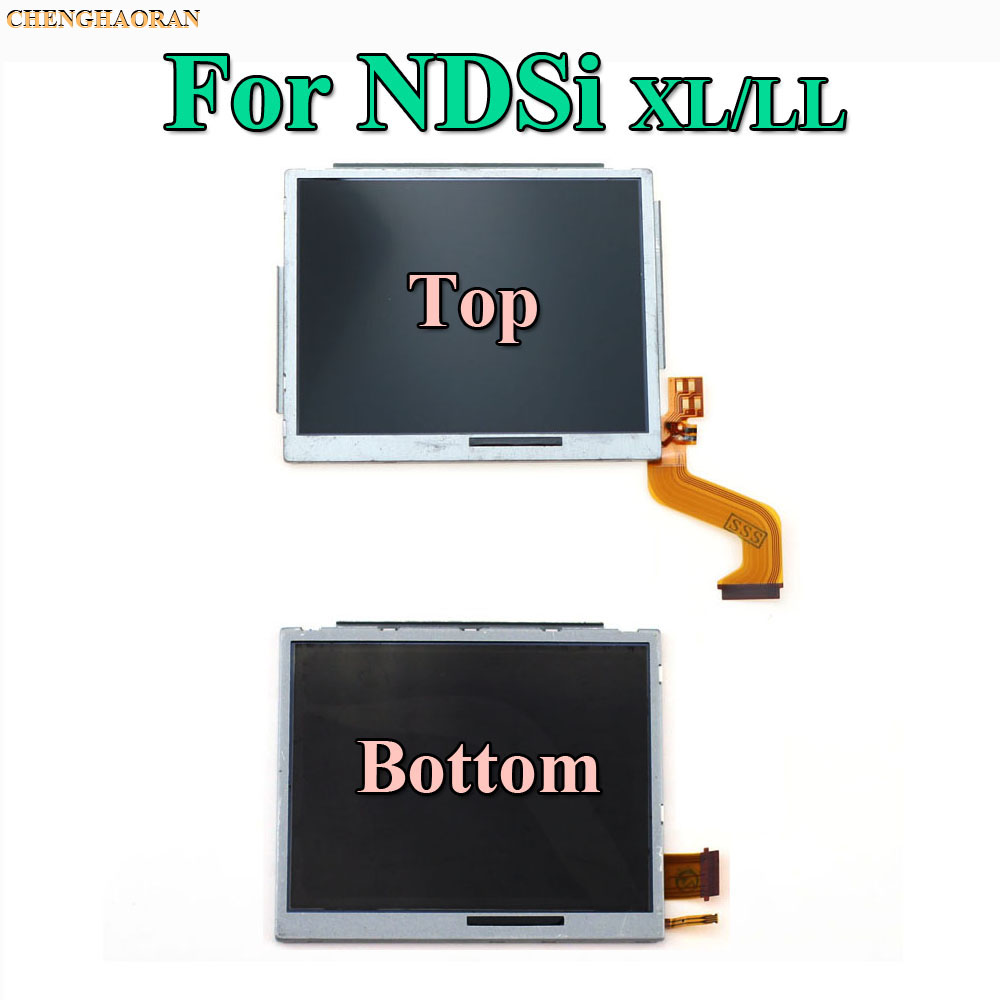 lowest price Replacement Parts Top Bottom  amp  Upper Lower LCD Screen Display For Nintend DS Lite NDS NDSL NDSi New 3DS LL XL for Nintend Switch