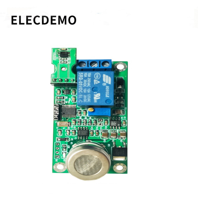 Mg811 이산화탄소 모듈 co2 센서 모듈 직렬 출력 대기 품질 감지 릴레이 제어