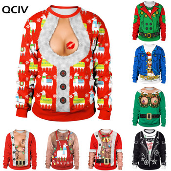 2020 Ugly Christmas Sweater New listing Christmas Sweaters Stylish Unisex Men Women Santa Claus Novelty Sexy RED Retro Sweater new autumn winter knitted sweaters women christmas theme cute snowman and christmas tree ugly christmas sweater pullover women