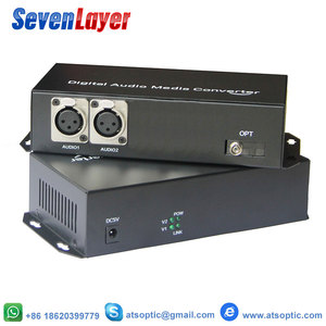 Image 3 - 2ch dengeli XLR ses fiber optik alıcı verici ve alıcı üzerinden dengeli ses fiber ses dijital fiber ortam dönüştürücü