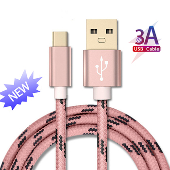 Good 3A Quick Charge USB Type C Cable for Xiaom Redmi Note 7 Fast Charging Type-C Cable for Samsung S9 S10 Plus Phone USB Type C