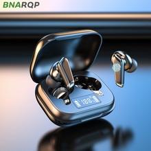 KNUPATH 9D HIFI Music Sound Waterproof Headsets Bluetooth Earphones With Microphones LED Display 300mAh Charging Box Wireless