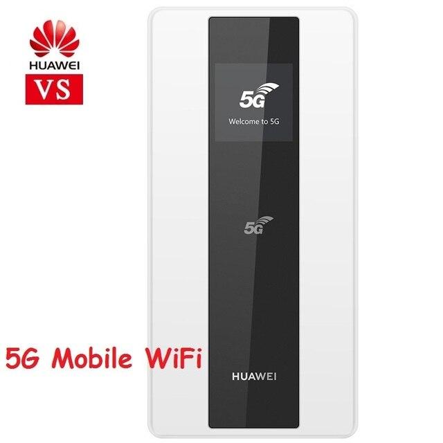 Huawei 5G WiFi Mini WiFi Router Huawei E6878 870 4000Mahแบตเตอรี่