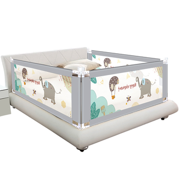 Baby Bed Fence Home Children Playpen Safety Gate Products Child Care Barrier for Beds Crib Rails Security Fencing Kids Guardrail solid wood children beds with guardrail small infant bedside single widening and splicing kids bed