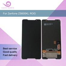 """עבור 6.0 """"ASUS ROG טלפון ZS600KL LCD amoled מסך תצוגת OLED מסך מגע פנל Digitizer עצרת עבור Asus מקורי"""