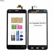 Touch Screen For Assistant As-5411 Touch Screen Digitizer Sensor Front Glass Panel Replacement Part