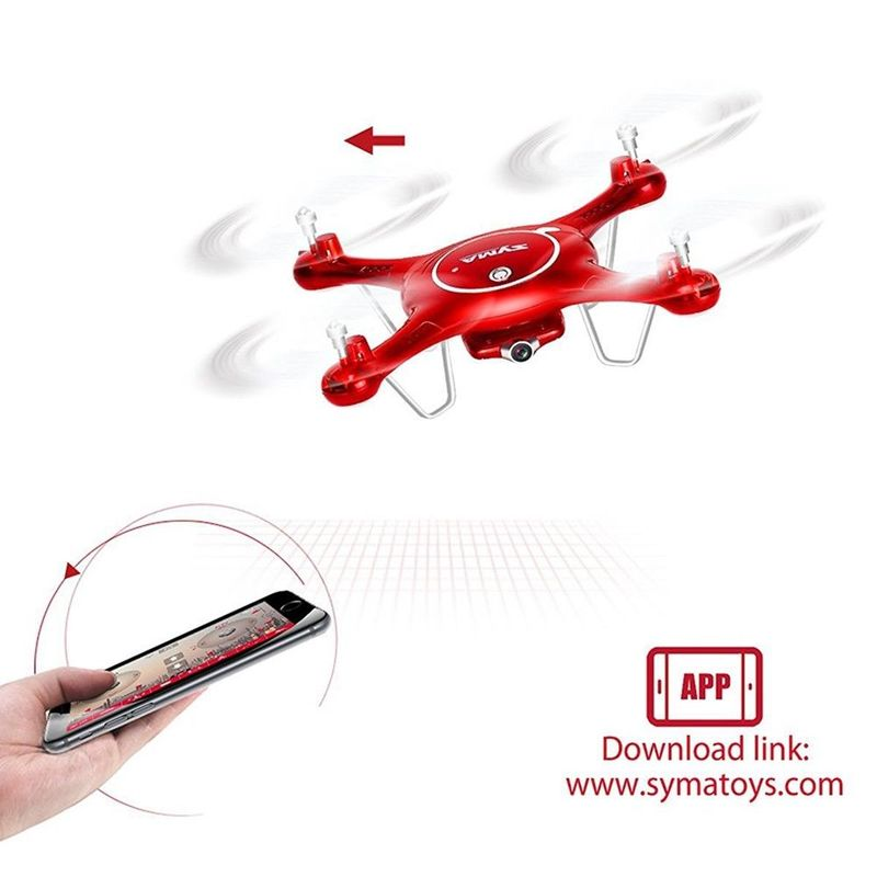 RC Quadcopter NEW SYMA X5UW with WIFI Camera FPV Professional Drone 720P Real-time Transmission RC Helicopter
