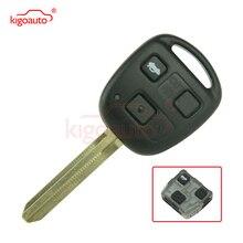 цена на 3 button 434Mhz TOY43 blade with 4D67chip Remote key for Toyota Land Cruiser FJ Cruiser kigoauto