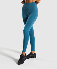 Mindstream High Waist Sports Fitness Fights Workout Full Body Leggings Gym Yoga Pants High Waisted Energy Seamless Leggings active stitching high waisted yoga leggings in blue