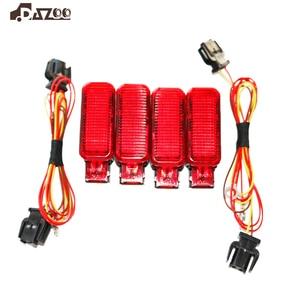 Image 1 - 8KD947411  Red Door Panel Warning light +Plug Harness  8KD 947 411 For A7 A8 Q3 Q5 TT A3 S3 A6 S6 A4 S4 R8 RS3 RS4 Car parts
