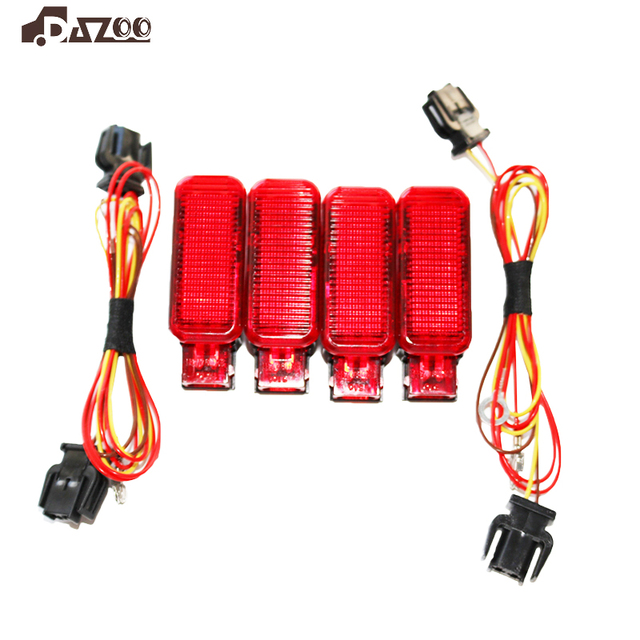 8KD947411  Red Door Panel Warning light +Plug Harness  8KD 947 411 For A7 A8 Q3 Q5 TT A3 S3 A6 S6 A4 S4 R8 RS3 RS4 Car parts