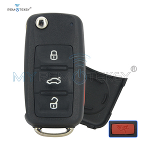 Remtekey 5K0 837 202 AE car key shell for VW Volkswagen Beetle Golf Jetta Passat car remote key case cover 2014 2015 2016