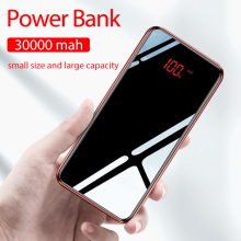30000 Mah Power Bank For Xiaomi Iphone External Battery Pove