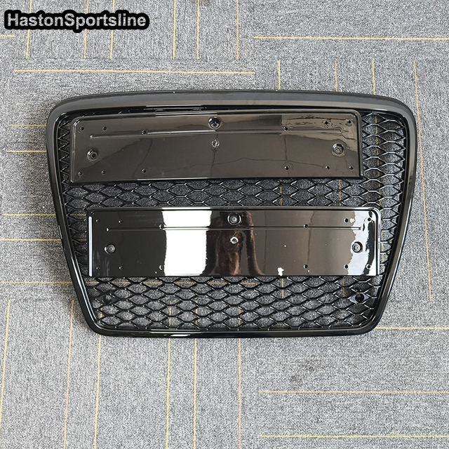 A6 RS6 Style Front Bumper Mesh Grille Guard For Audi A6 S6 RS6 2005-2011