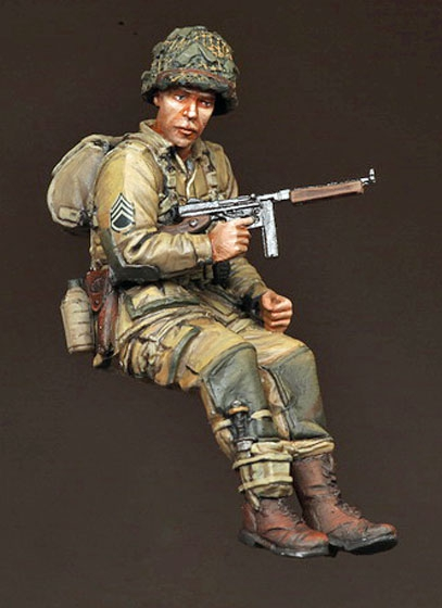 1/35 US Tank Crew Soldier Style XI Unassembled&Uncolored