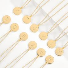 2019 Hot Fashion Gold-Tone Alphabet Pendant Necklace Jewelry With One in a Million Womens Letter Collier Party Christmas Gifts