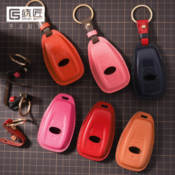 2020 NEW Hand Sewing High Grade Full Grain Genuine Leather Smart Car Key Case Cover for Subaru Forester/Outback/BRZ/XV