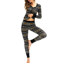 Christmas Pajamas Set 2019 New Xmas Yoga Running Suits Sleepwear Nightwear Homewear Female Home Sportswear Outfits  Set
