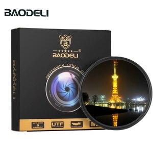 Image 1 - BAODELI Star Filtro 49 52 55 58 62 67 72 77 82 Millimetri Per La Macchina Fotografica Lens Canon Eos M50 T5 t6 77 2000 D Nikon 3500 7500 Sony Accessori