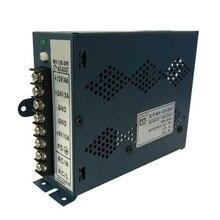 Fácil de aplicar fuente de alimentación Caja de marco máquina de Arcade módulo de conmutación dispositivo Negro Juegos Electrónicos duradero equipo práctico
