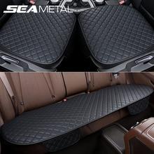 Fundas de asiento para coche, cubierta Universal de cuero, protección de asiento de coche, alfombrillas de cojín, Protector de Silla, almohadillas de alfombra, accesorios