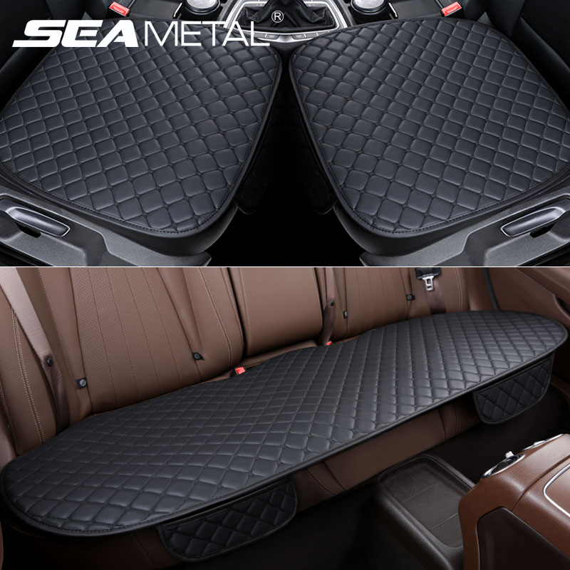 Seat Covers Car Set Leather Universal Car Seat Cover Protection Auto Seats Cushion Mats Chair Protector Carpet Pads Accessories