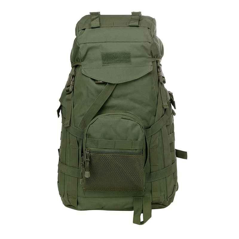 التكتيكية هجوم في الهواء الطلق دائم كبيرة قدرة حقيبة تسلق الجبال السفر السياحة الترفيه حقيبة بنقوش عسكرية كبيرة الظهر