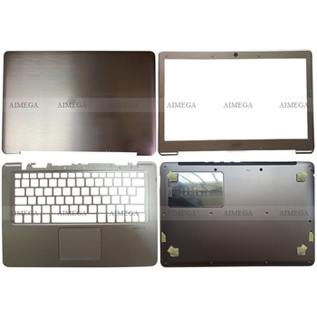 Cubierta trasera LCD para portátil Acer Aspire S3 S3-371 S3-391 MS2346, bisel...