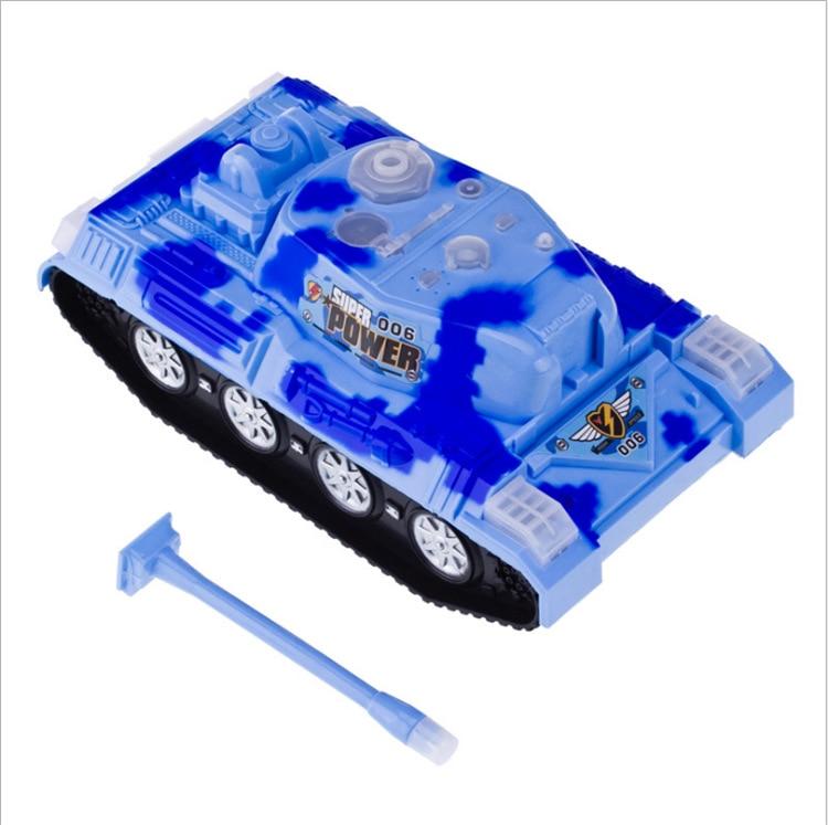 New Style Electric Marine Tank Model Electric Universal Light Plastic Model Toy Car Children Universal Car