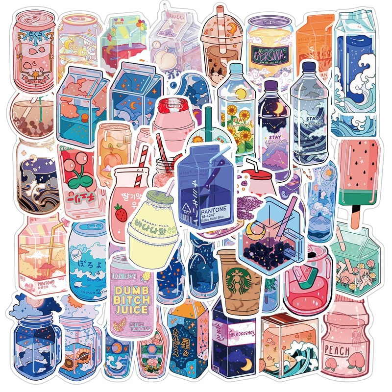 Girls Singer Sidemen Stickers 50pcs Decals for Laptops Water Bottles Toys and Gifts Cars Stickers Cartoon Anime Aesthetic Sticker Pack for Teens Sidemen Women