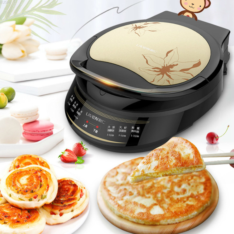 <font><b>Electric</b></font> <font><b>Baking</b></font> <font><b>Pan</b></font> Double-sided Heating Suspension Type Frying and <font><b>Baking</b></font> Machine Cake Machine <font><b>Electric</b></font> Skillets Tortilla Maker image
