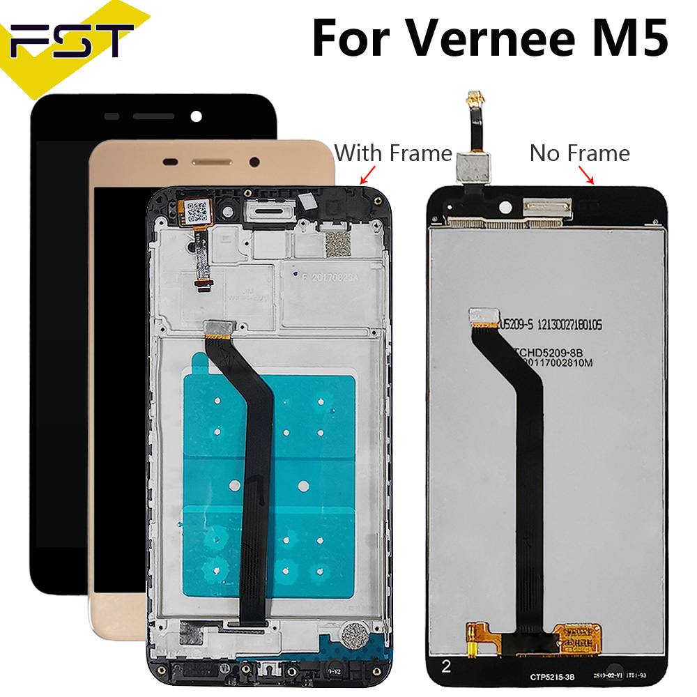 5.2''For Vernee M5 LCD Display+Touch Screen Digitizer Assembly Repair Parts For Vernee M 5 Phone Accessory+Tools