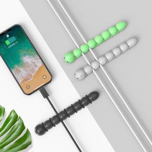 Image 5 - ORICO Cable Organizer Management For Mobile Phone Cable Earphone USB Charging Cable Winder Management Mouse Wire Holder Clips