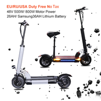 48V 800W Electric Scooter with Samsung 36A Battery 144KM Kick Scooter Electric Skateboard E Scooter patinete electrico adulto