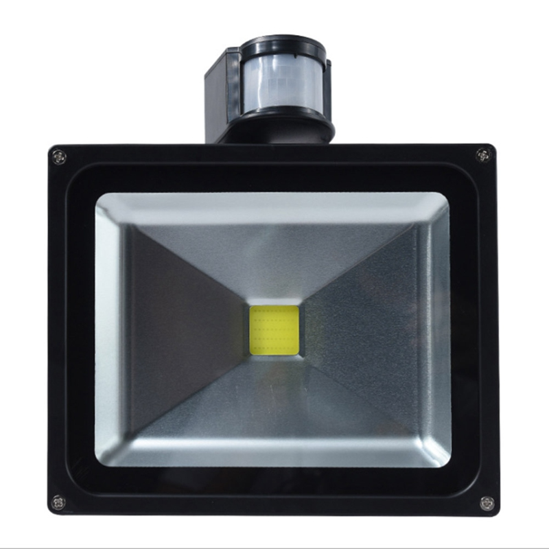180 Degree Auto PIR Motion Sensor Detector Projection Lamp With Switch Home Garden Outdoor Light Lamp Switch Black