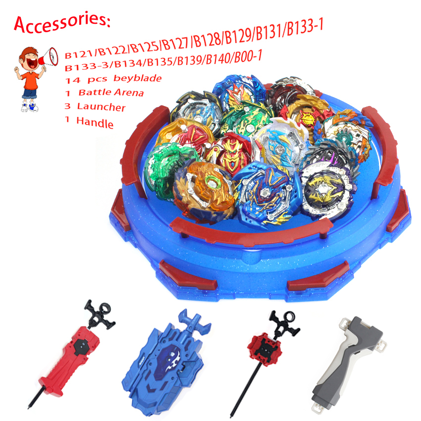 Beyblades burst Launcher Bayblade arena toupie beyblades metal Launcher Accessories <font><b>bay</b></font> blade blade Gift for kids image