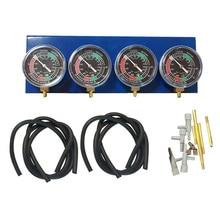 цена на Motorcycle Fuel Vacuum Carburetor Synchronizer Tool Carb Sync Gauge 4 Cylinder Brand New And High Quality
