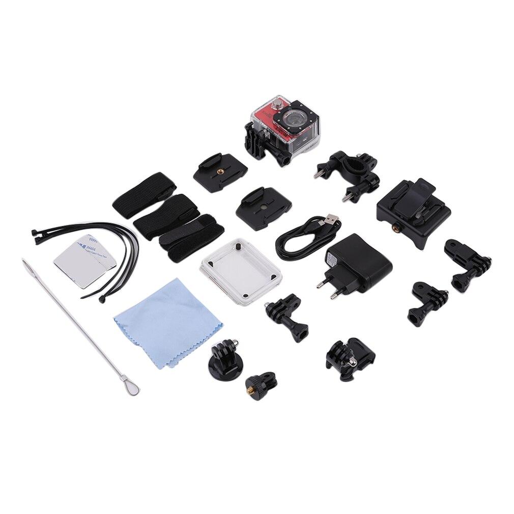 Compact 1.5 pouces LCD Wifi 1080P Full HD numérique Sports de plein air 170 degrés étanche casque caméra