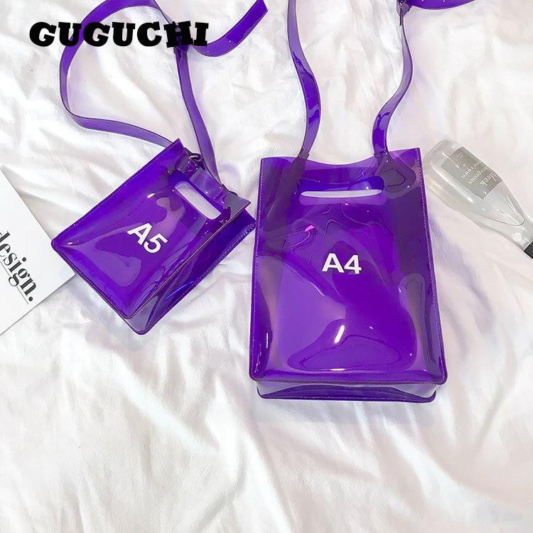 Прозрачные сумки женские модные ПВХ буквы открытые пляжные сумки композитные 2020 Новое поступление Женские повседневные сумки через плечо|Сумки с ручками|   | АлиЭкспресс