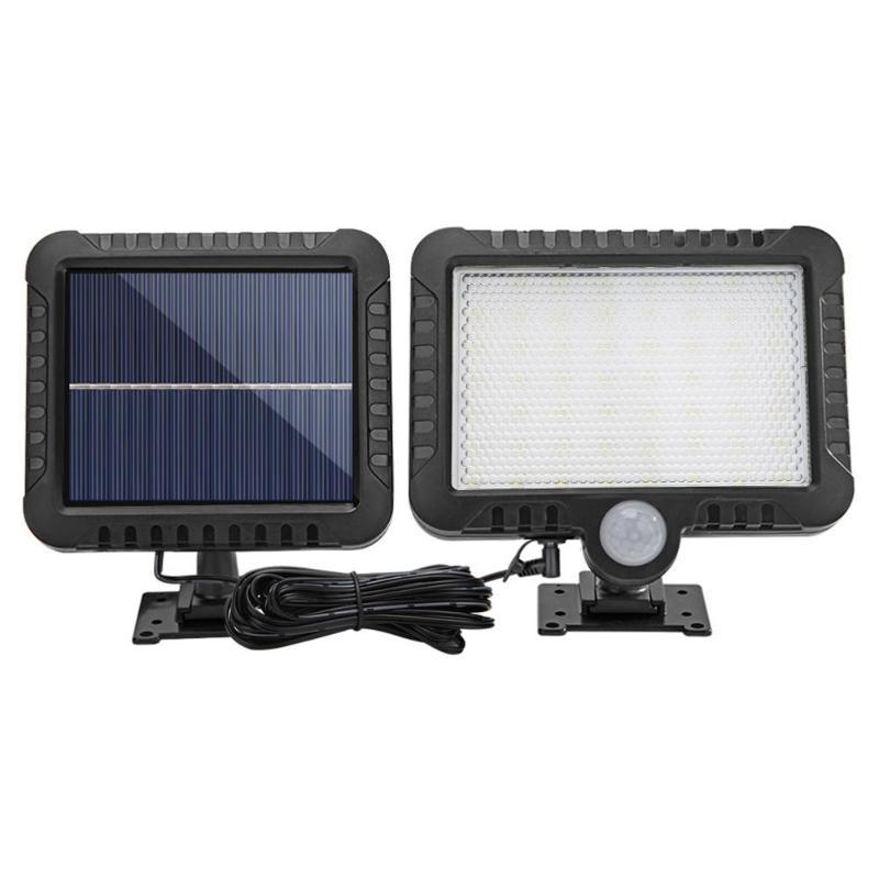 50/100LED COB Solar Lamp PIR Motion Sensor Waterproof Outdoor Path Solar Garden Light Energy Saving Wall Lamp Night Lighting