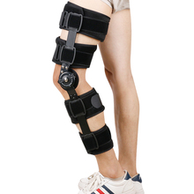 цена на Knee Support Brace Stabilizer Wrap Hinged Guard Patella Protector Adjustable Leg Joint Relax Massage Strap Wrap Fixation Tool