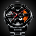 New Unique Wheel Hub Watch Special Design Sports Car Rim Watches Waterproof Creative Relogio Masculino 2021 Watch Men Wristwatch